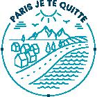Paris, je te quitte Logo
