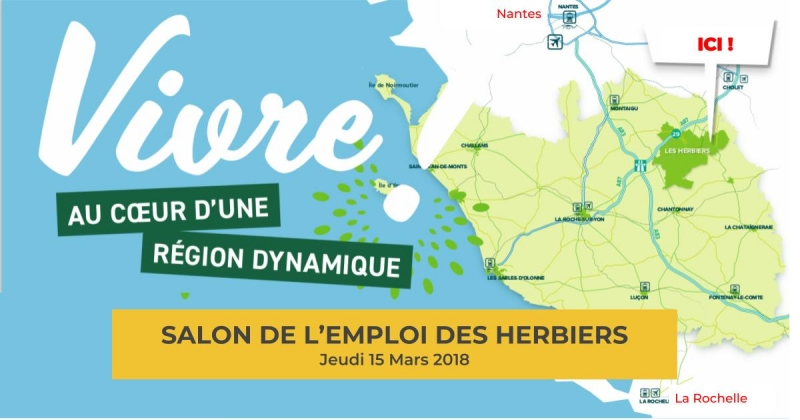 15 mars vend e salon de l 39 emploi des herbiers paris for Salon de l emploi paris